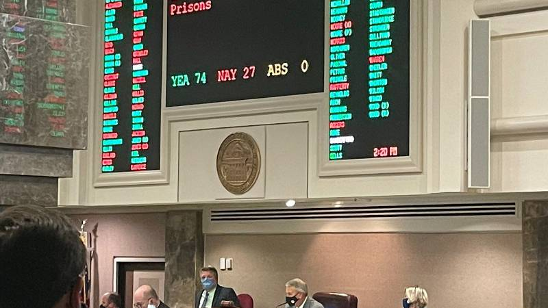 The Alabama House of Representatives has voted to pass HB4 in a special session. This deals...