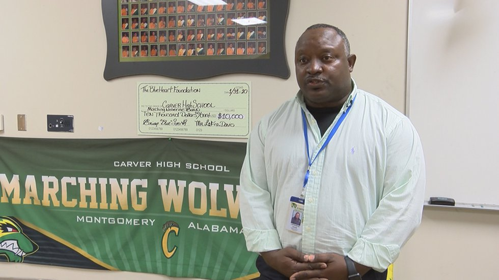 Carver High School Band Director LaFrancis Davis is excited about what his program can do with...