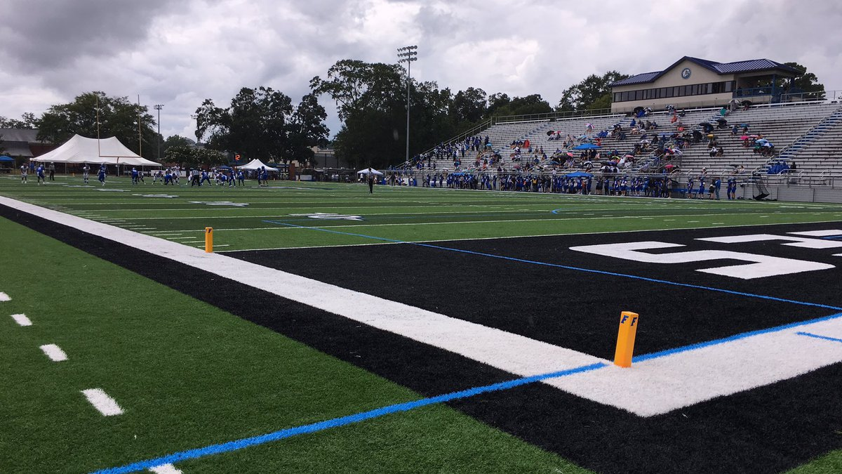 The Faulkner Eagles defeated the Florida Memorial Lions 34-10 Saturday.