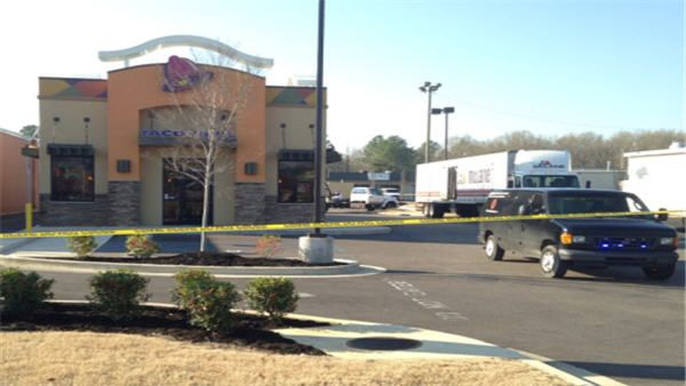 File photo of the Taco Bell on Atlanta Hwy. where Vettia Roche, 43, was shot and killed....