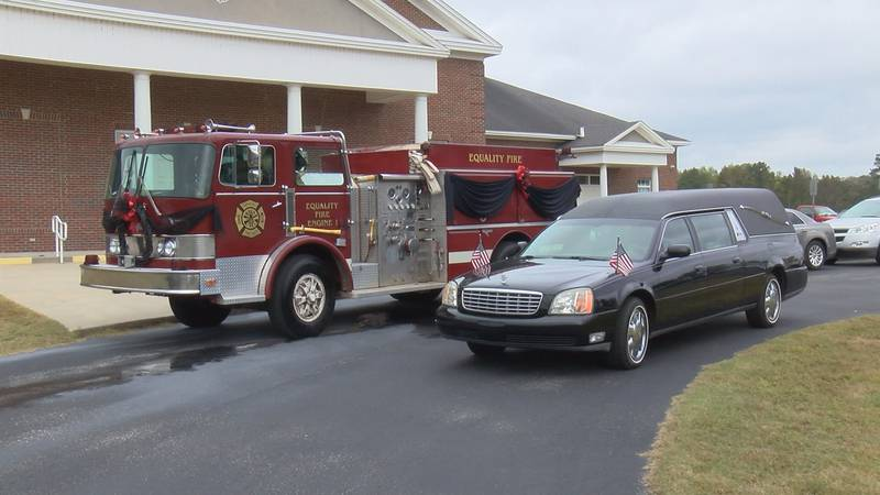 Volunteer Equality Firefighter Michael Johnston was laid to rest on Saturday at the Rehobeth...
