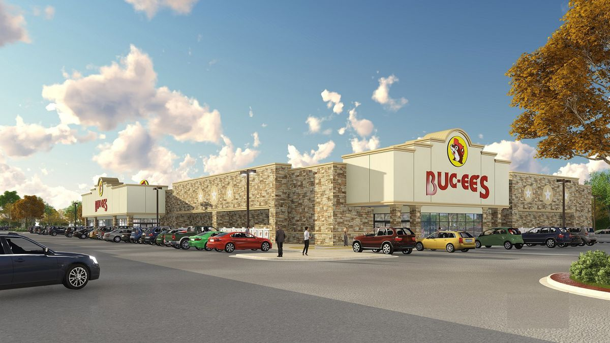 Rendering of the new Buc-ee's location in Florence