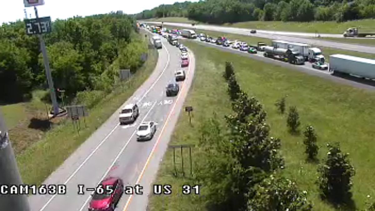 A multi-vehicle crash has prompted the closure of I-65 North, and one lane of I-65 South near...