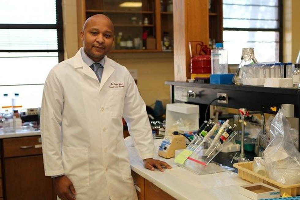 Dr. Clayton Yates, a professor and director of the Center for Biomedical Research. (Source:...