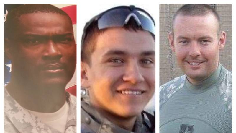 Carlos Pernell, Stephen Bicknell, and Nicholas Henley of Prattville gave their lives fighting...