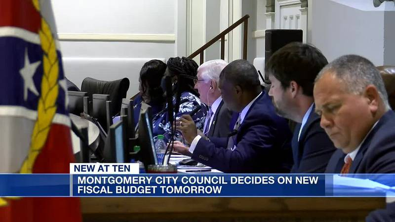 Montgomery City Council set to decide new fiscal budget