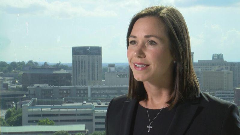Republican Katie Boyd Britt has entered the race for Alabama's open U.S. Senate seat.