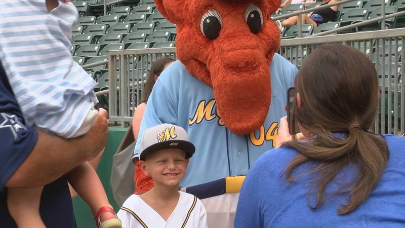 Remington Waters was surprised with tickets to a Yankees game thanks to the Montgomery Biscuits...