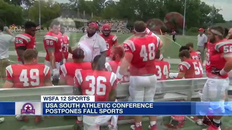 USA South postpones fall sports