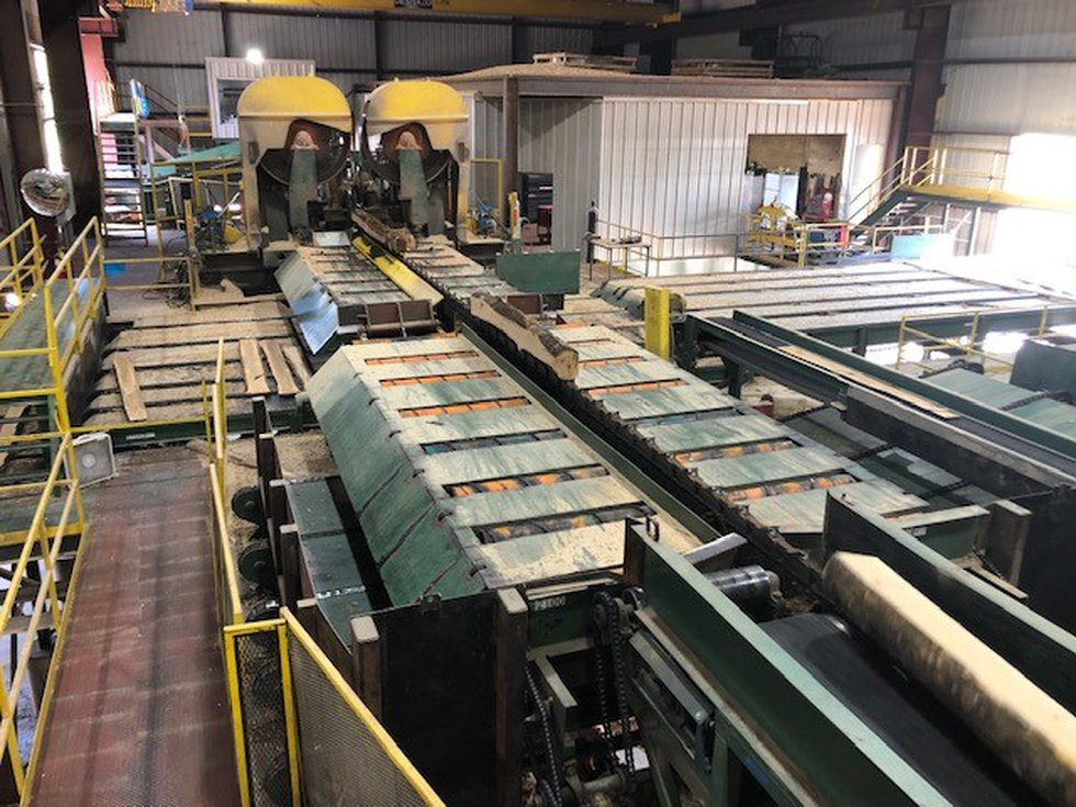 During the heart of the pandemic a Coosa County mill decided go fully automated. We got to take...