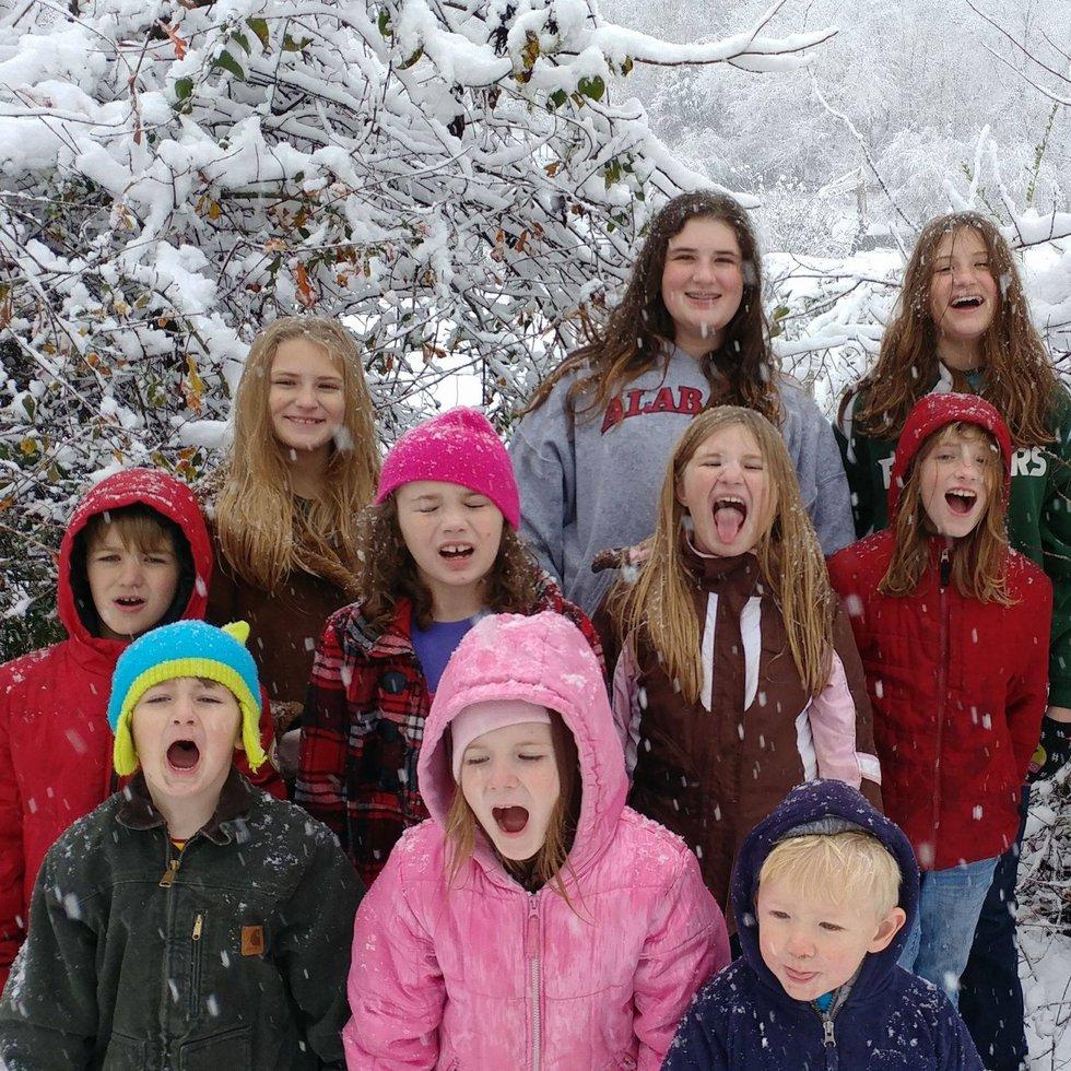 Katherine Pennington leaves behind 10 children