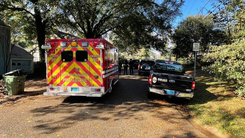 There was a heavy police presence on Mallory Street behind Lee High School Thursday morning.