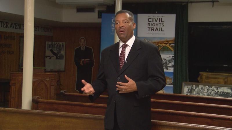Dexter Avenue King Memorial Baptist Church Pastor Cromwell Handy spoke out against racial...
