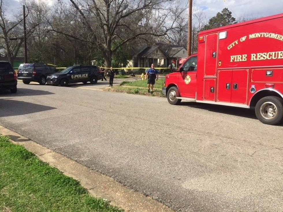 Multiple emergency vehicles are at the scene. (Source: WSFA 12 News)