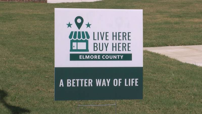"""The """"live here, buy here,"""" campaign launched on Monday, and the county plans to keep the..."""
