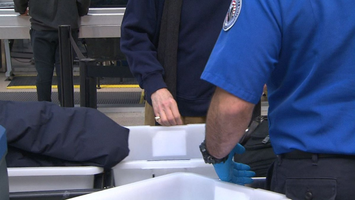 The TSA said 40% of its workers remain unvaccinated against COVID-19.