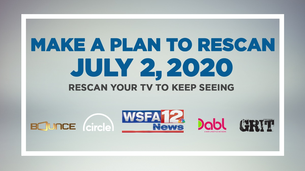 If you receive WSFA 12 News over the air using an antenna, you will be required to rescan your...