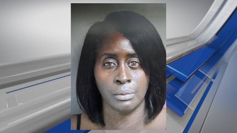 Jeanette Towns Moore is accused of killing her husband by stabbing him in the neck.