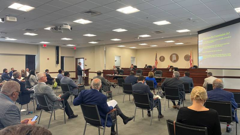 It was a full house for the Alabama Medical Cannabis Commission during it's second meeting to...