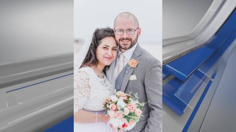 Wedding photo of Trey Johnson and Ruth Soler-Johnson