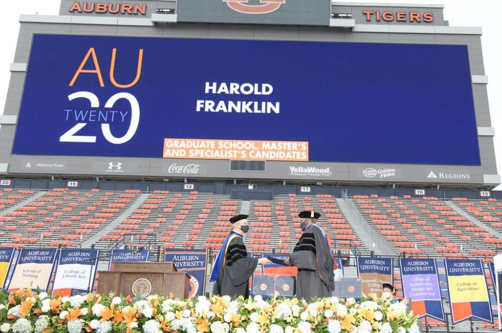 Harold Franklin was the first Black student to attend Auburn University.