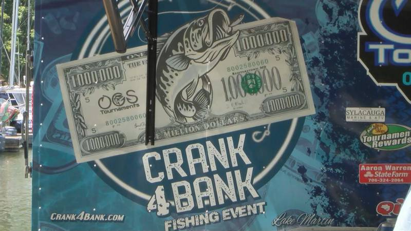 The Crank 4 Bank tagged fishing event wrapped up on Saturday with several anglers taking home...