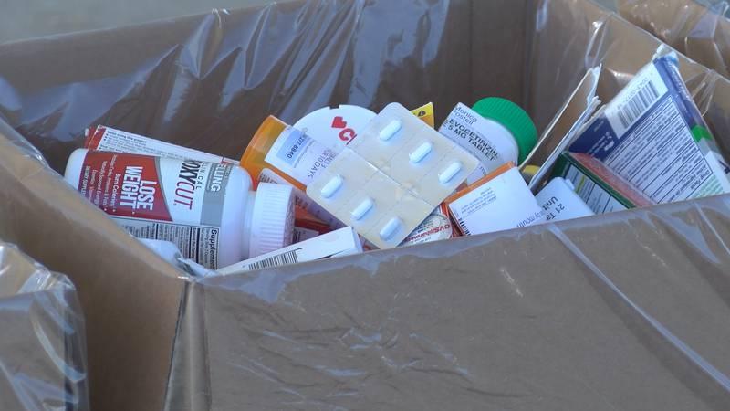 The 21st DEA National Prescription Drug Take Back Day was on Oct. 23.
