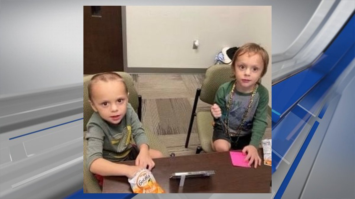 Law enforcement has turned over to DHR two children whom the Elmore County sheriff says...