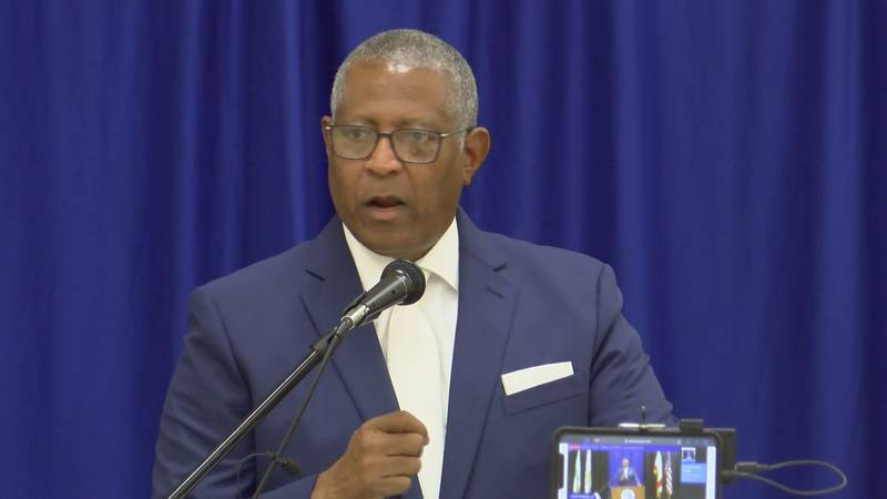 Selma Mayor James Perkins delivered his State of the City address on April 29, 2021.