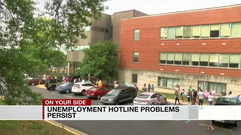 Unemployment benefits delayed
