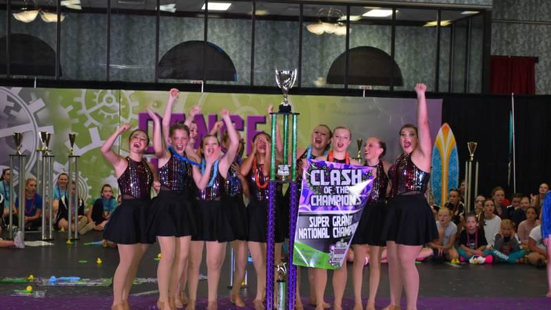 The Barbara Studio of Dance in Alexander City won the Dance Machine Americas National Dance...