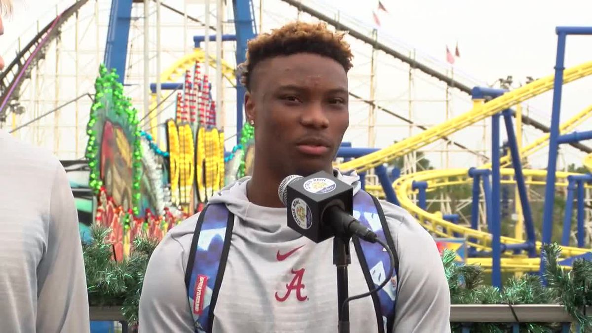 Henry Ruggs II talks about fun before Citrus Bowl
