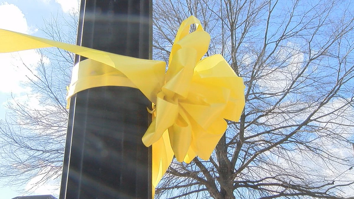 George Harding, Paighton's uncle says these ribbons are also meant to remind others of those...