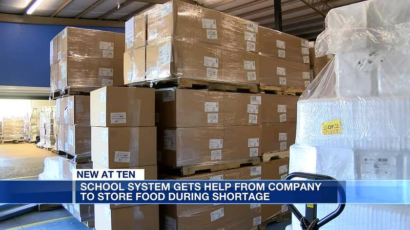 Elmore County school system gets help with food storage