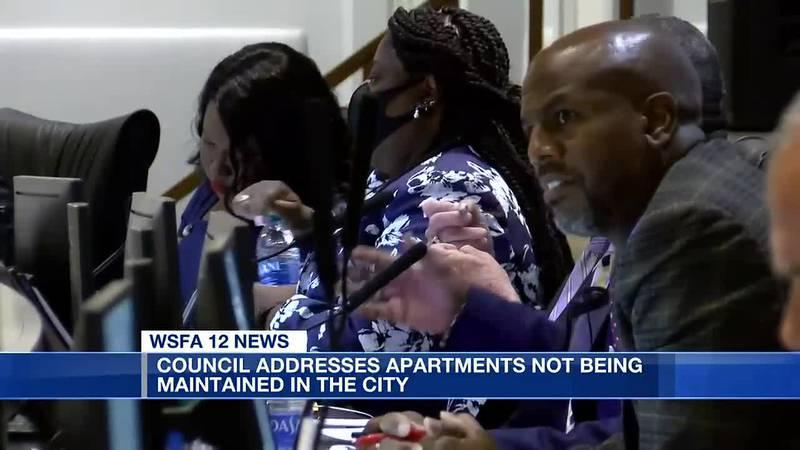 Montgomery City Council addresses apartment negligence