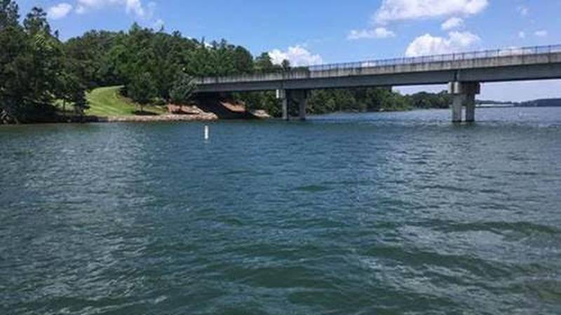 """A new """"No Wake"""" zone has been created at Lake Martin at the bridge where Ridge Island Way..."""