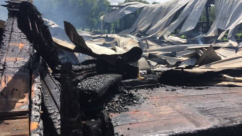 A fire destroyed Doc's Country Store in Opp.