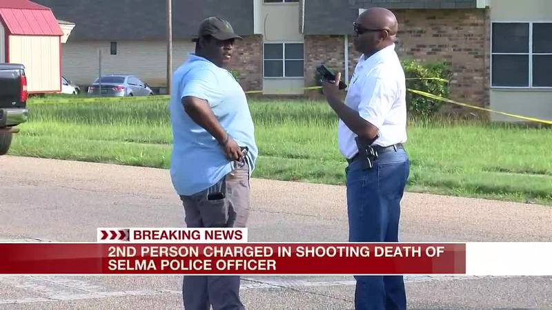 2nd suspect charged in Selma police officer's slaying