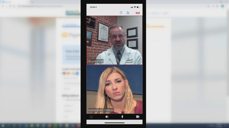 """Telehealth allows you to virtually 'see"""" a doctor instead of going into the office."""