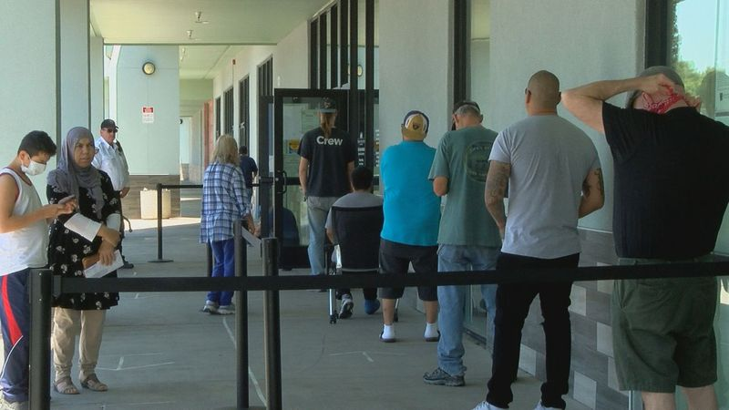 Frustrations grow as people wait for unemployment