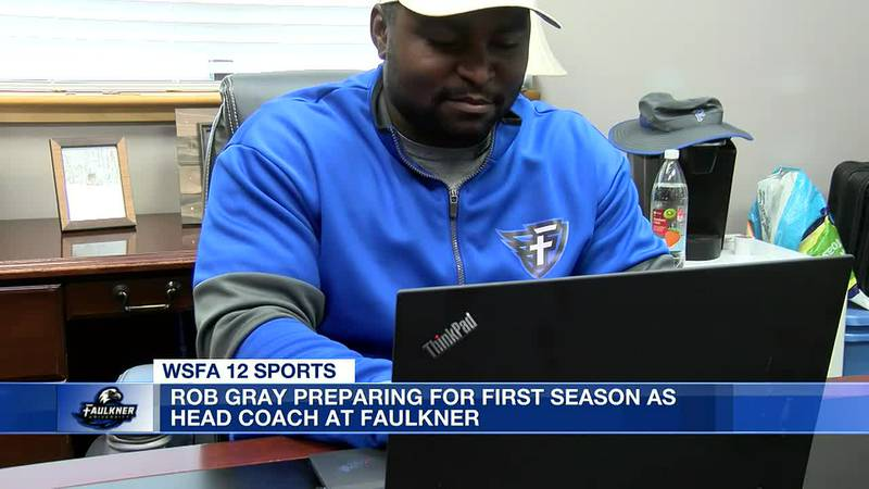 Rob Gray prepares for 1st season as Faulkner head coach