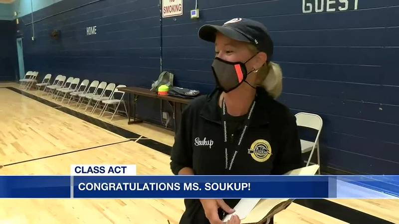 Class Act: Floyd Middle Magnet School's Shelby Soukup