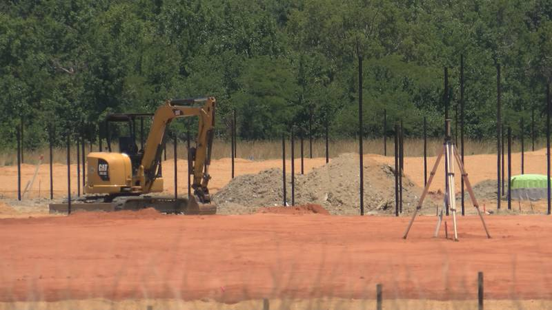 """The 80-acre park being developed off Trotman Road was donated by John """"Bubba"""" Trotman and family."""