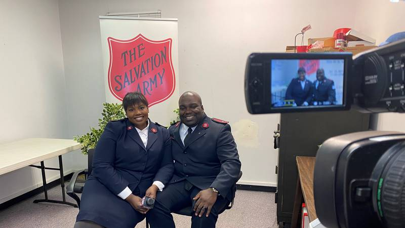 Captains Daimion and Tabitha Roberts share over 20 years of experience as Salvation Army...