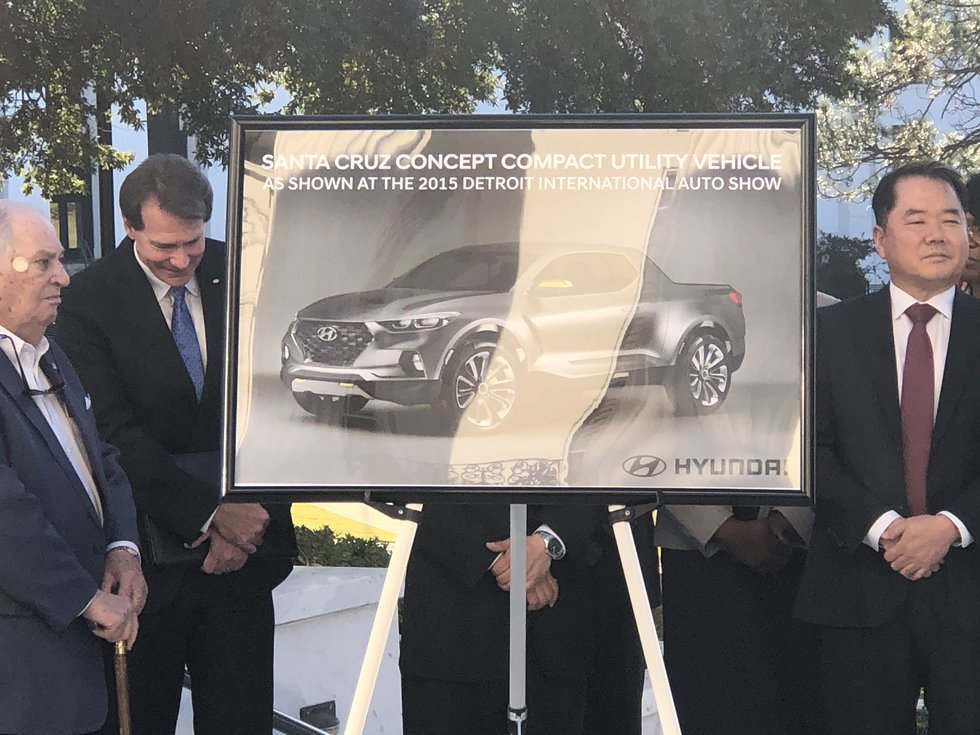 A $410 million expansion project will prepare Hyundai's U.S. automotive assembly plant to build...