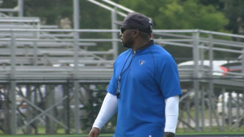Rob Gray begins his first season as head coach of the Faulkner Eagles.