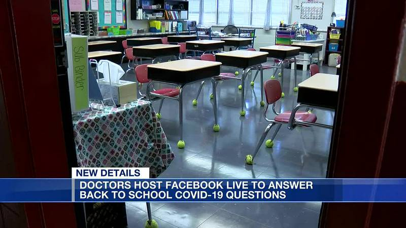 Health experts talk COVID-19 recommendations before school starts