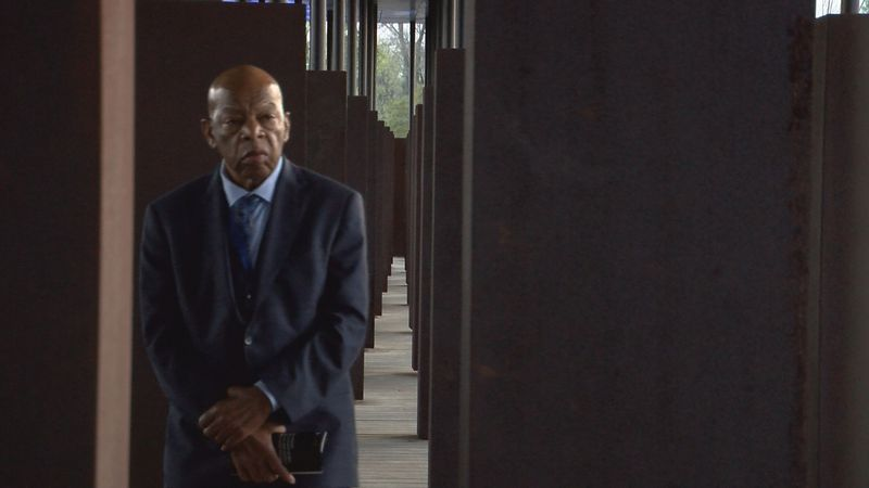 Georgia Congressman, and civil rights icon, John Lewis touring the Memorial for Peace and...
