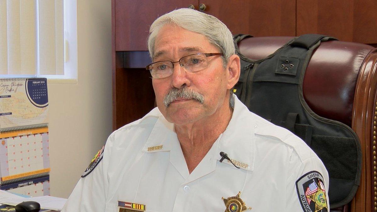 Autauga County Sheriff Joe Sedinger is in quarantine following a COVID-19 diagnosis.