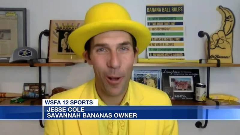 Savannah Bananas headed to Riverwalk Stadium in 2022